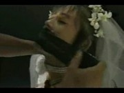 Bounded asian bride
