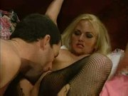 Blonde takes it in all holes