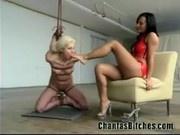 Teen Lesbian Whipped!