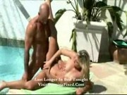 Leslie - Hot sex by the pool