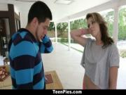 TeenPies - Summer Lace Gets Her Twat Creamed