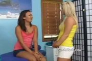 Eden's very hot tight body gets rubbed all over by christine