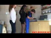 Black white girlfriends fucks the plumber - xnetbyinternet