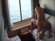 French Couple Having Sex On A Cruise ShipWindow Sex