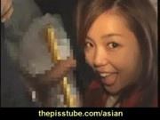 petite japanese slut sucks dick and masturbates