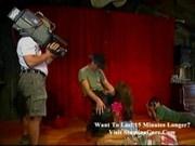 Eslove Vaginal artist gets banged on stage