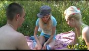 Naked teenie spreads
