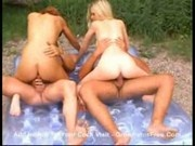 Mae - Outdoor anal groupsex2