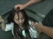 Schoolgirl abused in Elevator Part 2