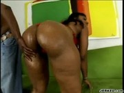 Booty Cherokee Gets Fucked By A Big Black Cock - Foxy Black