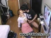 Teen Blowjob in hostel