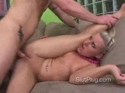 Eve Gets Her Pussy Stretched
