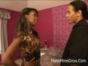 Monica Foster - Hot Ebony Screwed By A Huge Black Cock