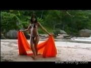Exotic Brazilian Girl Arrives On A Tropical Island With Her Boyfriend And Has Se