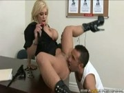 Ticket of a Lifetime with officer Shyla Stylez - Big Tits In