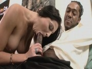 Whore Raquel Diamond Gets Broken Into Interracial Porn