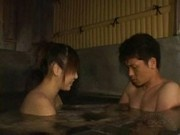 Hot Spring Blowjob