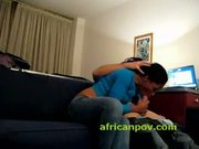 Real african amateur face and pussy fucked doggystyle