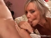 This Blonde Milf Is Really Hungry For Cock - XMovies
