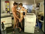 Boss shows Marina how to photocopy and more