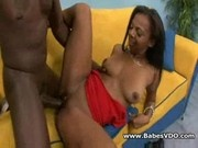 Black couple hardfucking