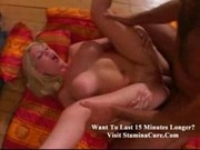 Andrea Blonde babe likes riding