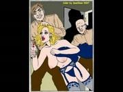Classic Horror BDSM Sado Pain Artworks