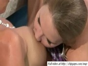 Juicy wet sexy women on drunk party