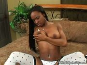 Arielle alexis - black bimbo loves white dick