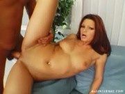 Jennie sucks and rides a hard Cock - All Internal
