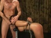 Pornstar Eva angelina doggystyle bondage fuck
