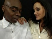 Lisa Ann is a desperate mother - interracial scene Part 1