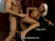 Big Titty Blondie Craving His Cock