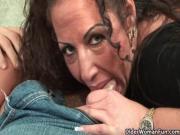 Milf Angelica Lauren knows how to suck cock