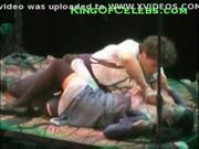 Lea michele(glee) topless in a play