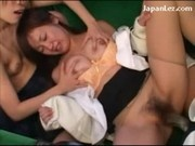 Schoolgirl Getting Rapped Tits Rubbed Pussy Fucked With Strapon Face Spitted By Other Schoolgirls On