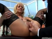 Milena - Nasty MILF Gets Ass Fucked