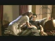 horny nurse fucking with patient in their house