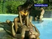 Groupsex At The Swimming Pool