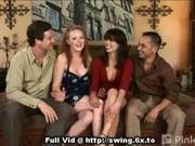 Swinger Cumshot On Tits