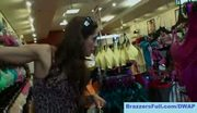 Bra shopping with francesca le