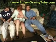 granny redhead fucking