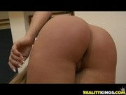 Morgan Moon gets her sweet euro twat pummeled