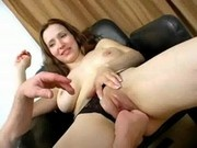 Limber Chick gets Pussy Stretched