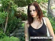 Creampie Surprise - Gianna big tits porno