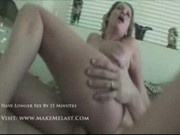 Peg - Blonde with enormous boobs in action2