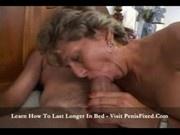 Sers a sexy grandma fuck his grandson