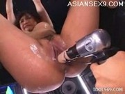 Moe Ohishi Fucking Machines Japanese Slut Enjoys Her Toys A Lot