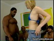 Tina marie at black attack gangbang
