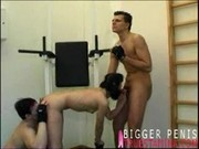 two gym guys for one hot gym girl 2
